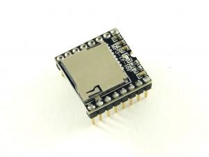 Звуковой модуль с sd картой, MP3 (с выбором трека)