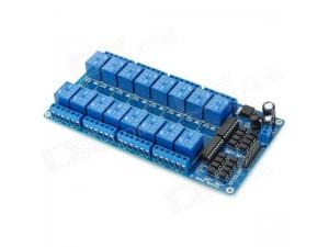 Релейный модуль, 16-канальный, с опторазвязкой