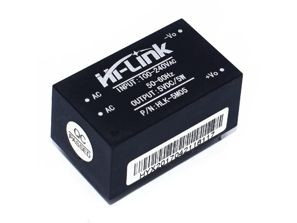 Сетевой модульный блок питания, 5В, 1А