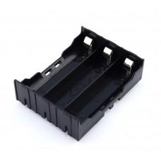 Корпус для трех аккумуляторов 18650, под плату