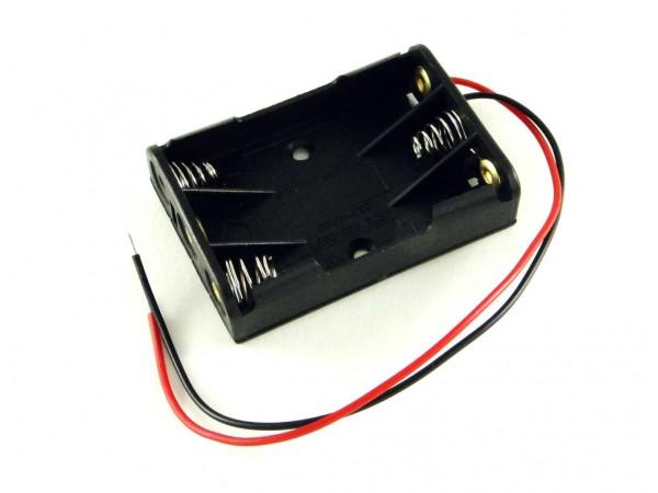 Корпус для трех батарей AAA