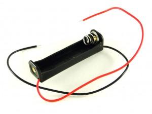Корпус для одной батареи AAA