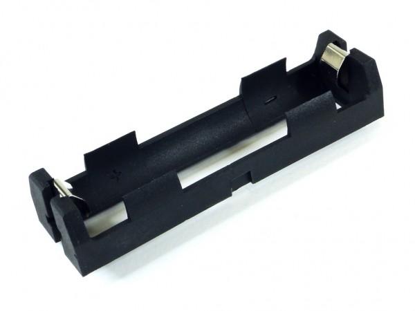 Корпус для одного аккумулятора 18650, под плату, нейлон