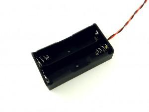 Корпус для двух аккумуляторов 18650