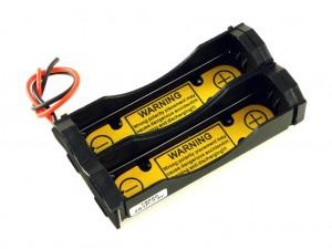 Корпус для двух аккумуляторов 18650 с защитой