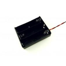 Корпус для трех аккумуляторов 18650