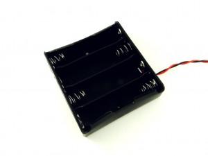 Корпус для четырех аккумуляторов 18650