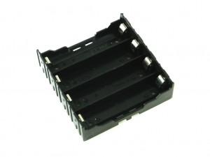 Корпус для четырёх аккумуляторов 18650, под плату