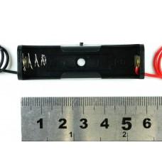 Держатель для одной батареи AA