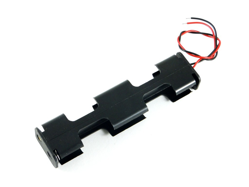 Держатель для восьми батарей AA, 4x2
