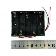 Держатель для пяти батарей AA