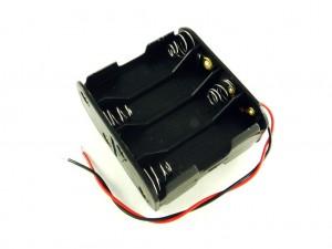 Корпус для восьми батарей AA