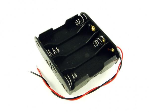 Держатель для восьми батарей AA