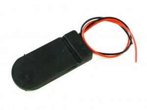 Корпус для двух батарей CR2032, с выключателем CH2