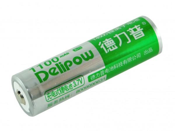 Аккумулятор Li-ion Delipow (14500), 1100мАч, 0.75А
