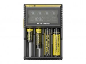 Зарядное устройство NiteCore D4 для 4-х аккумуляторов IMR, Li-Ion, Ni-MH, Ni-Cd