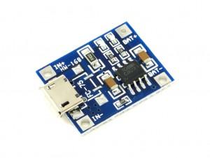 Модуль заряда одного аккумулятора Li-Ion, 1А