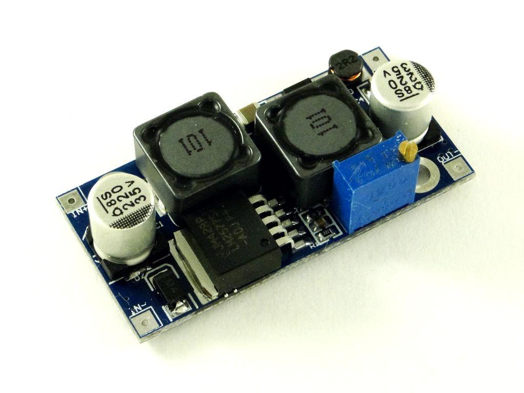 Преобразователь повышающий, импульсный (StepUp) на базе LM2577, 3A
