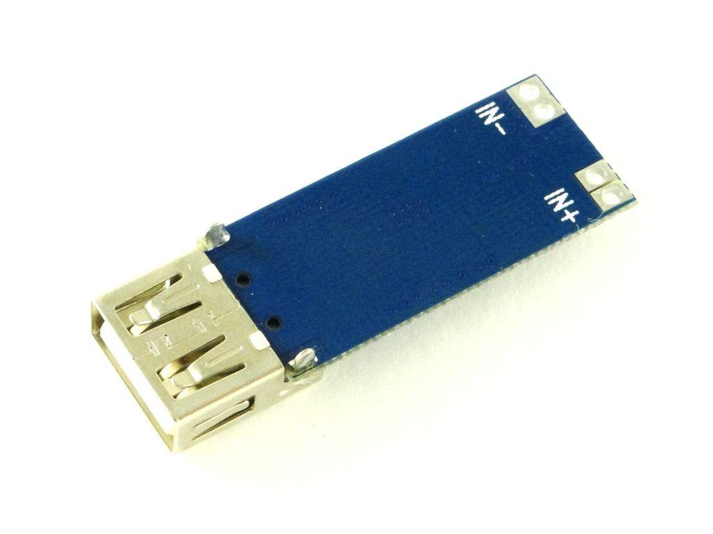 Преобразователь повышающий с USB, 5В, 1,5A