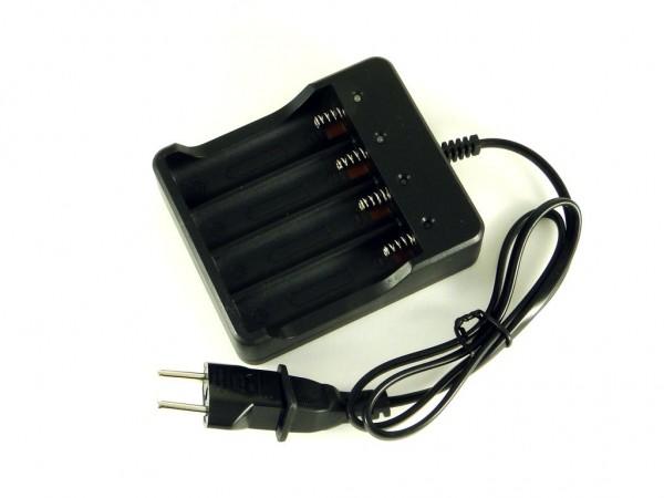 Зарядное устройство для Li-Ion аккумуляторов 18650, 4 слота