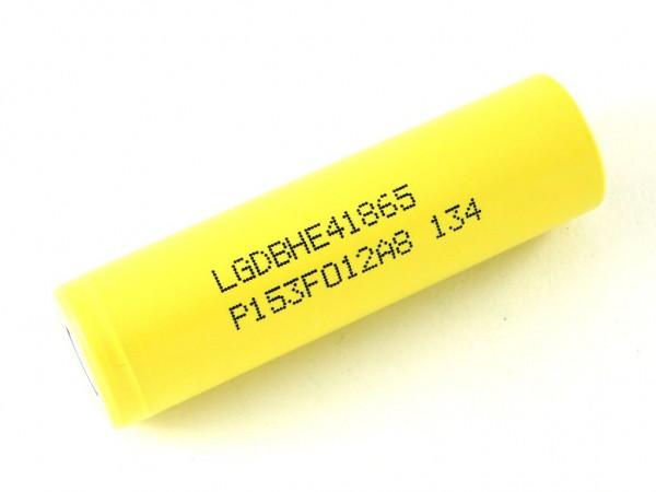 Аккумулятор Li-ion HE4 18650, 2500мАч, 20А (40А)