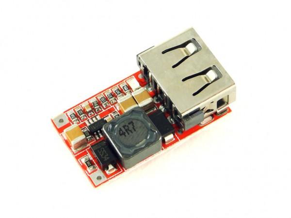 Преобразователь понижающий с USB, 5В, 3А