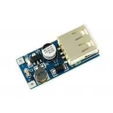Преобразователь повышающий с USB, 5В, 600мA