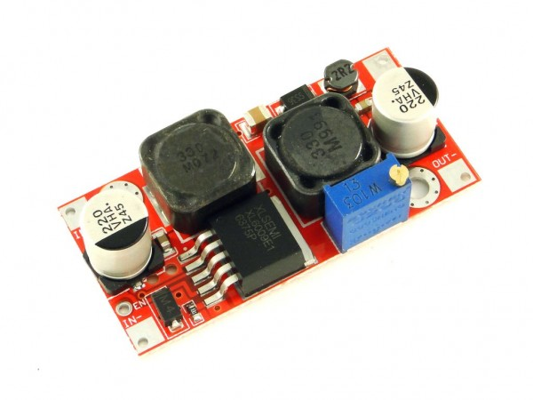 Преобразователь повышающий, импульсный (StepUp) на базе XL6009, 3A, CH2