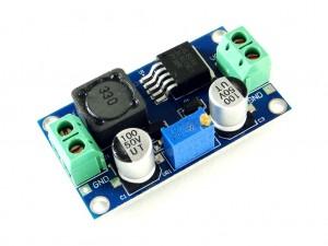 Преобразователь повышающий, импульсный (StepUp) на базе XL6019, 5A