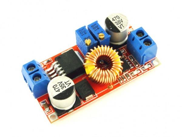 Преобразователь понижающий XL4015 с регулятором тока, 5A