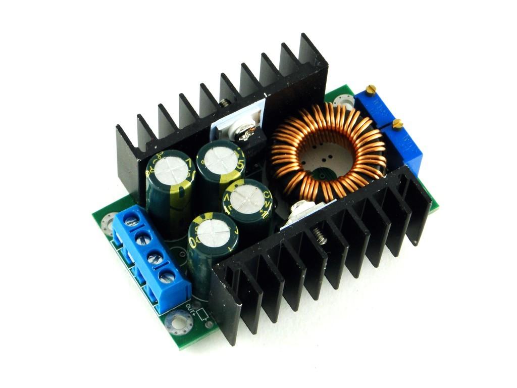 Преобразователь понижающий с регулятором тока, 8А