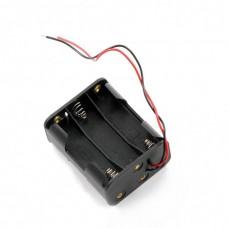 Корпус для шести батарей AA