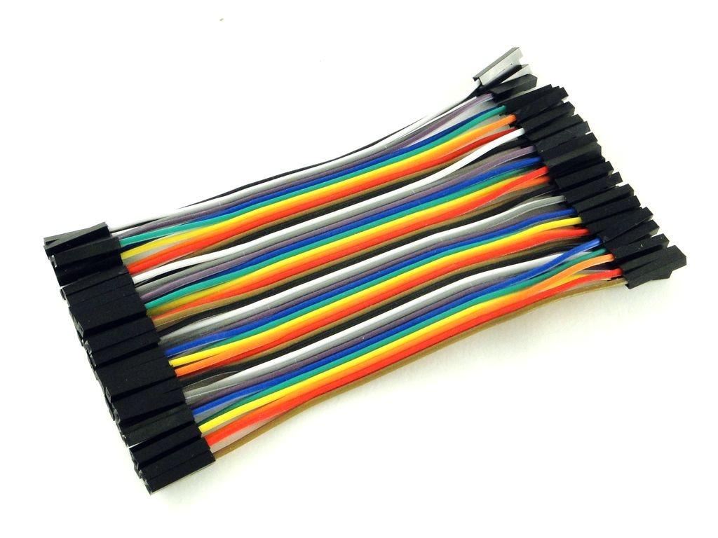 Провода розетка-розетка, 40шт, 10см