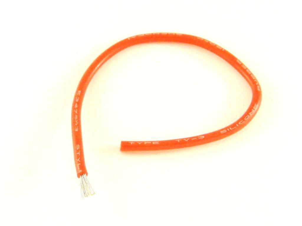 Провод в силиконовой изоляции, 20AWG, 1 метр