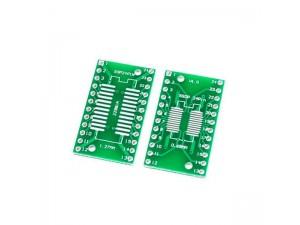 Макетная плата для микросхем sop24 и ssop24
