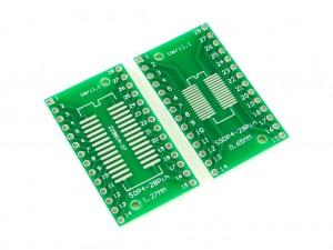 Макетная плата для микросхем SOP28 и SSOP28