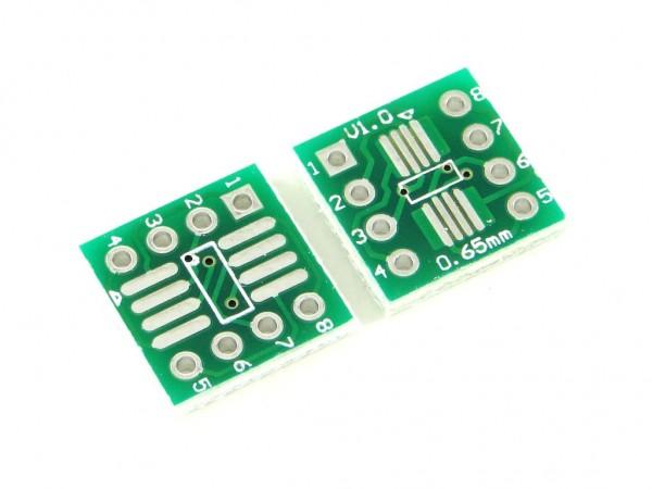 Макетная плата для микросхем SOP8 и SSOP8
