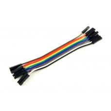Провода розетка-розетка, 10шт, 10см