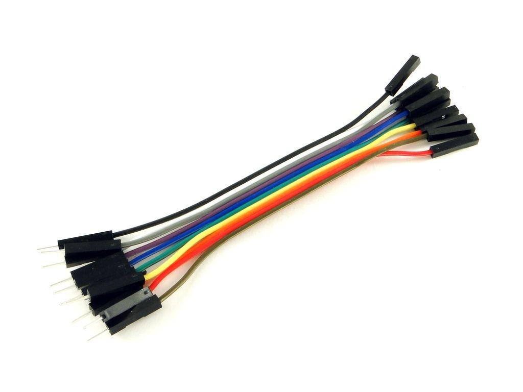 Провода вилка-розетка, 10шт, 10см