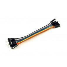 Провода вилка-вилка, 10шт, 10см