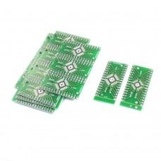 Макетная плата для микросхем qfn32, qfp32, qfn40, qfp40
