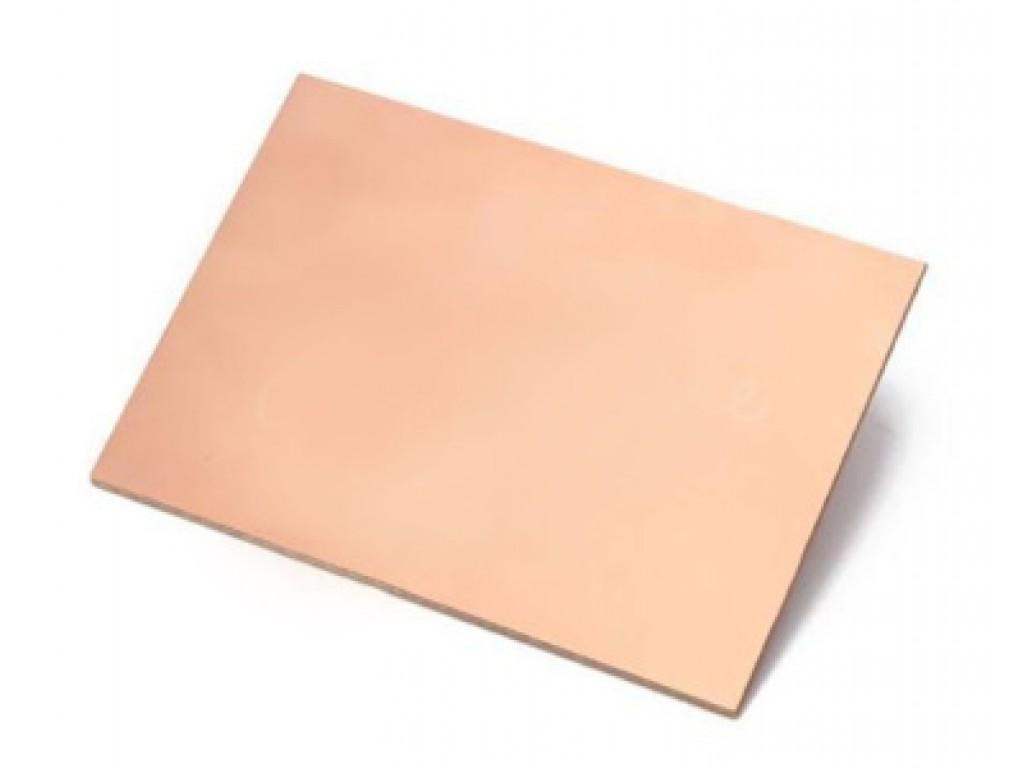 Стеклотекстолит фольгированный, двухсторонний, 1,6 мм, 7x10 см