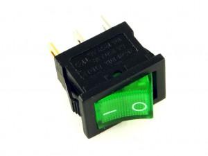 Клавишный переключатель CH1, зелёный