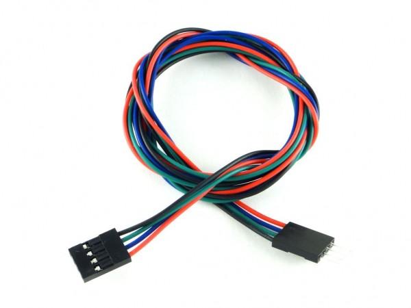 Удлинитель вилка-розетка 70см, 4 провода