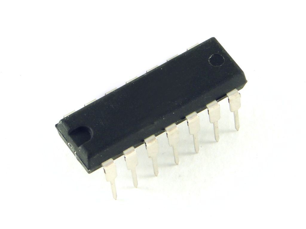 Микросхема. Сдвиговый регистр 74HC595N