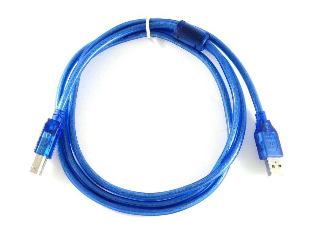 Кабель USB-A/USB-B, 0.5м