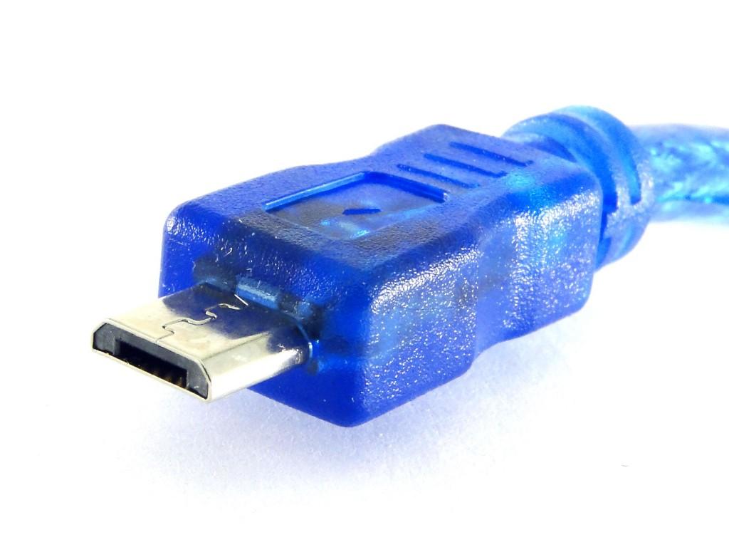 Кабель USB-A/Micro-USB, 0.5м