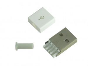 Разъем USB-A, вилка с корпусом, CH2