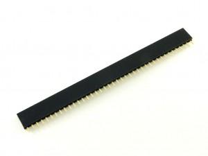 Разъем штыревой 40-pin, розетка, шаг 2.54