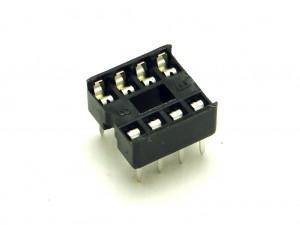 Набор из 5 сокетов для микросхемы DIP-8